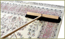 First Step Is Dusting Every Oriental Rug